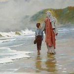 jesus-camina-junto-a-un-nino